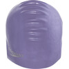 speedo Plain Moulded Bathing Cap grey/blue